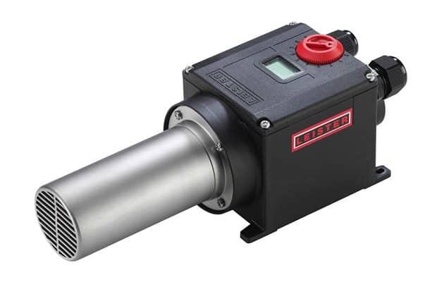 מפזר חום תעשייתי Leister_Air-heater_LHS-41S-SYSTEM